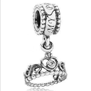 "Pandora ""My Princess"" Dangle Charm"